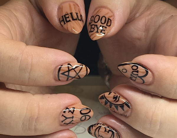 15 Of The Spookiest Halloween Inspired Nail Art On Instagram