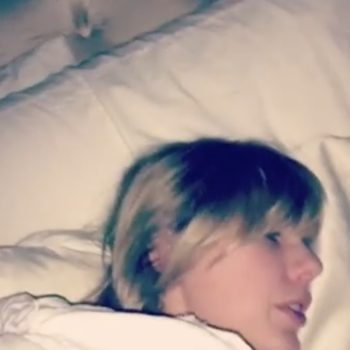 Taylor Swift is REALLY upset her cat wouldn't let her sleep — and she recorded the entire thing