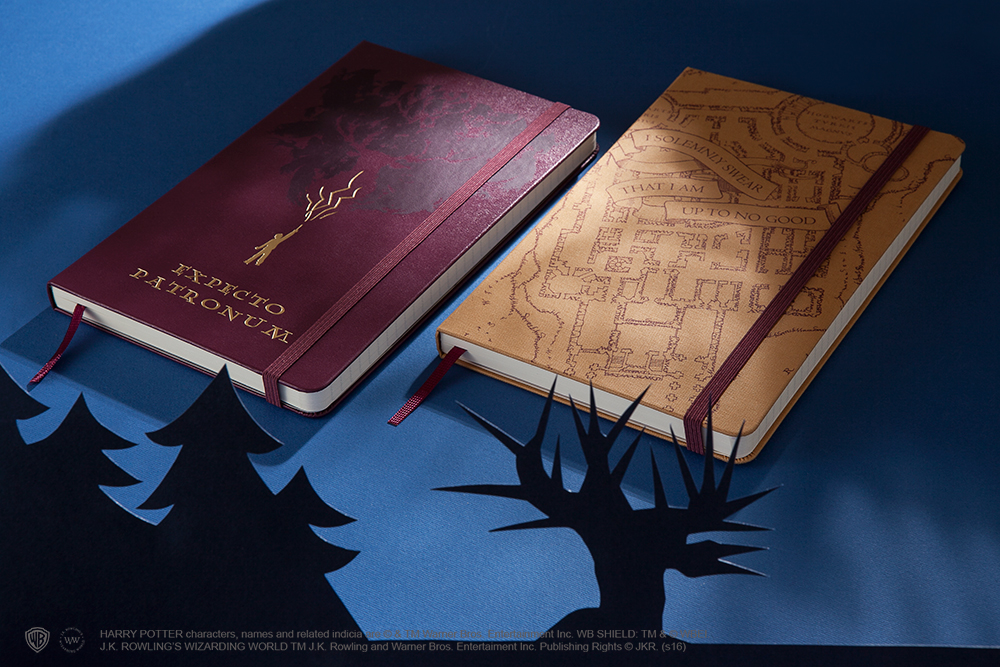 """These """"Harry Potter"""" Moleskine notebooks will make your journaling even more magical"""