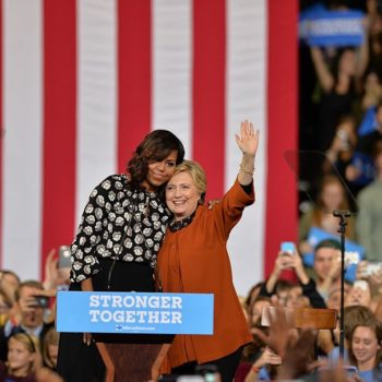"""Michelle Obama did her own version of the Hillary """"shimmy shake,"""" and we're loving it"""