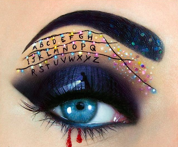 """From """"Stranger Things"""" to spider legs, 13 Halloween-inspired eye makeup to get you looking spooky AND beautiful"""