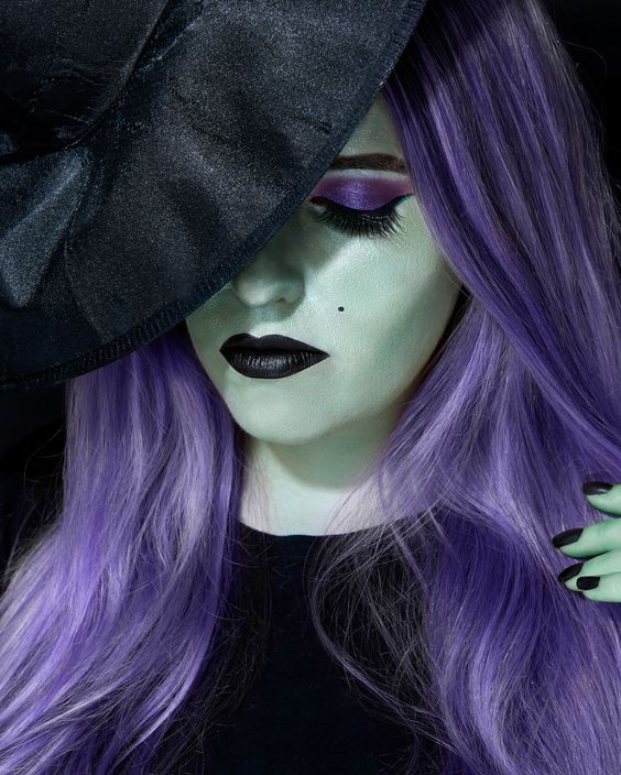 These Are The 10 Most Pinned Makeup Looks For A Diy Halloween
