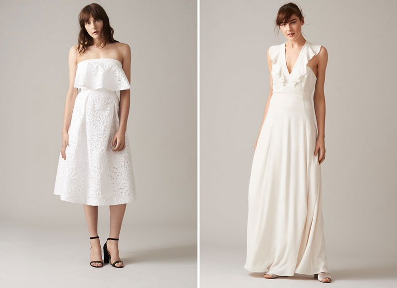 d58c99f2ac2 This British line just launched their first wedding dress collection ...