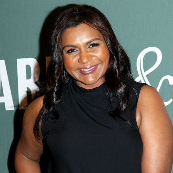 Mindy Kaling's marigold sweater is all our fall dreams come true