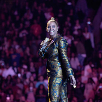 Beyoncé stopped her Tidal X concert to urge people to vote and her speech is electrifying