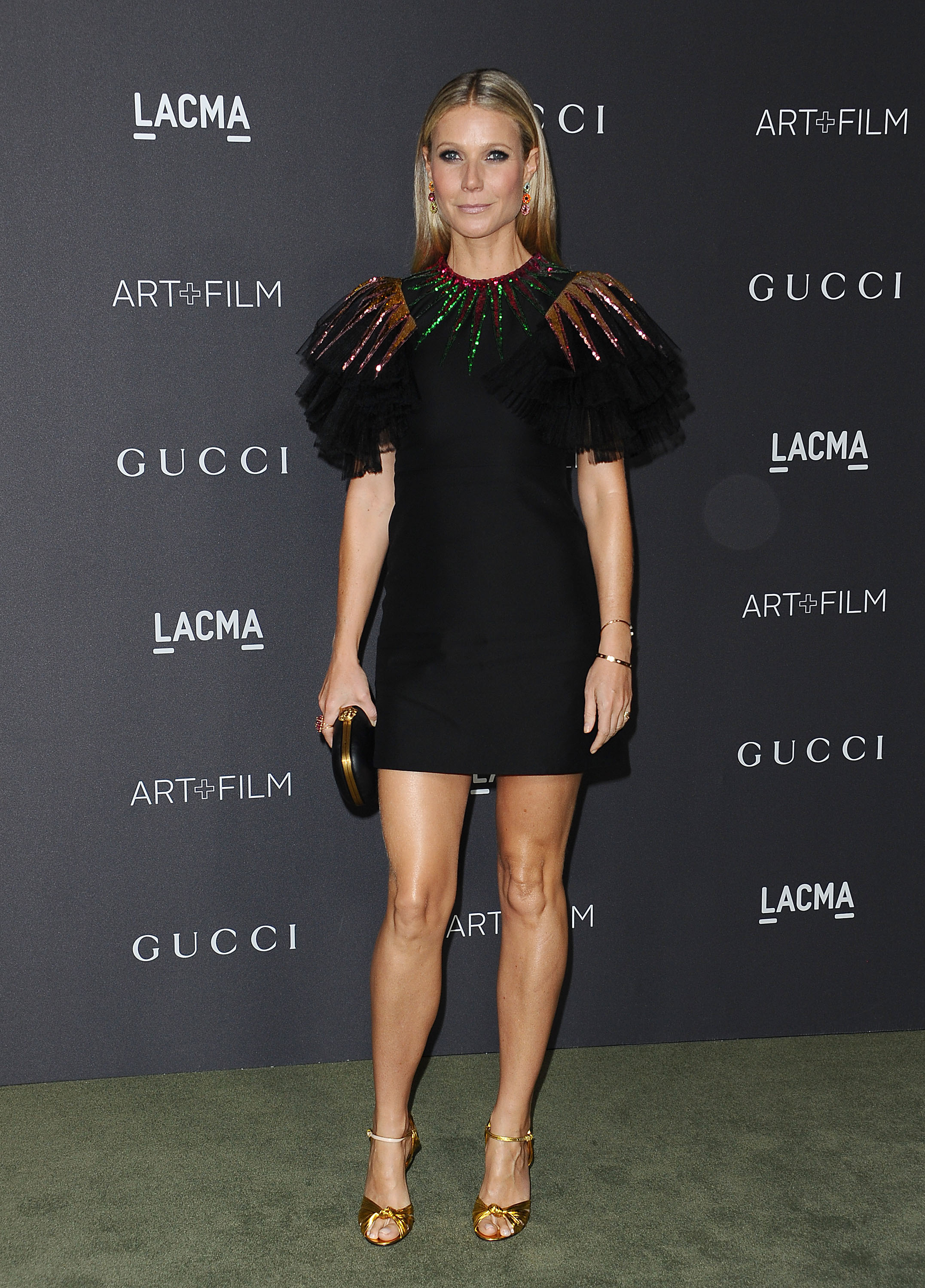 Gwyneth Paltrow in Gucci dress