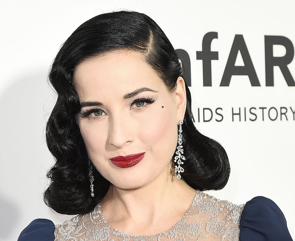 f145dc355 Dita Von Teese literally dresses up as a
