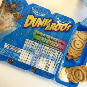 This is how desperate people are to get their hands on Dunkaroos, because it *was* the greatest snack of the '90s after all