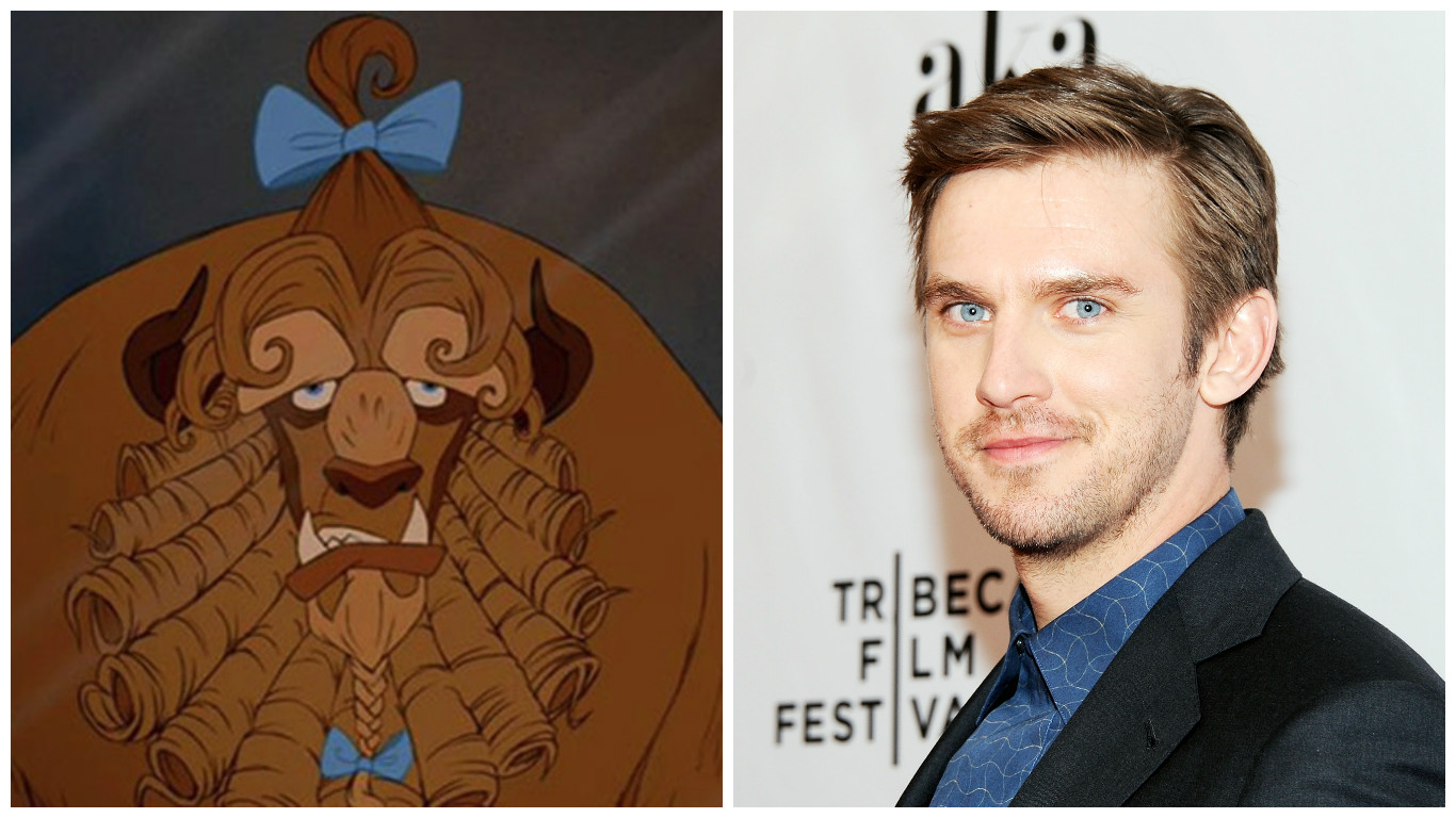 It Sounds Like Dan Stevens Had The Worst Time Playing Beast In Beauty And
