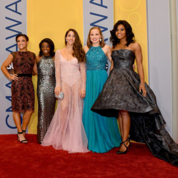The Final Five deserve another fashion Gold Medal for their stunning CMAs looks