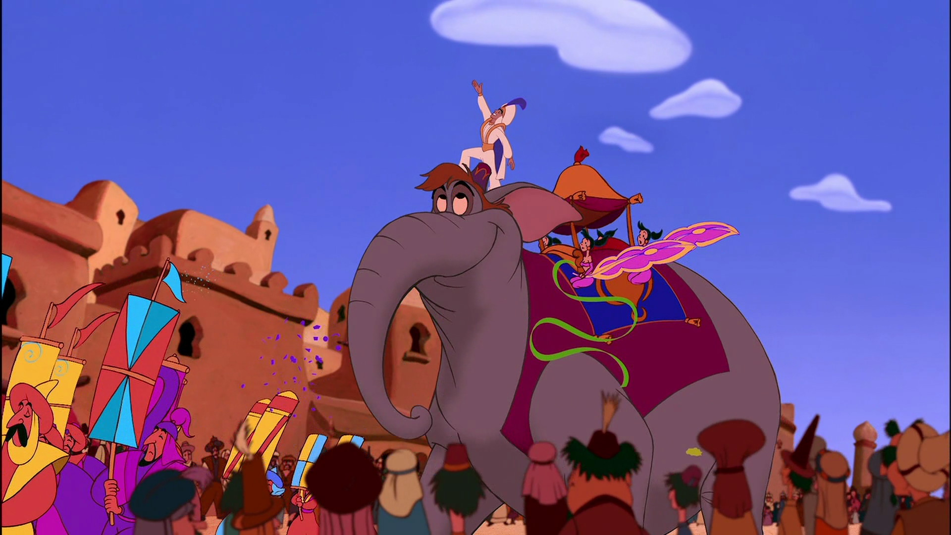 And Were Also Loving That The Replica Taj Mahal Is Riding On An Elephants Back Just LikeYOU KNOWAladdin Himself During His Prince Ali Parade