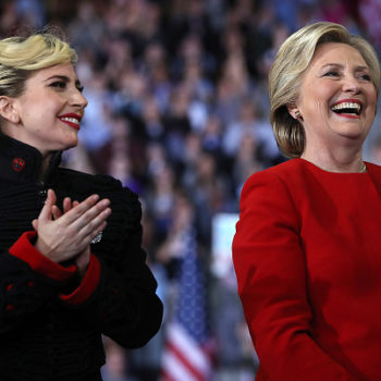 Lady Gaga wore Michael Jackson's jacket to Hillary Clinton's last rally, we're feeling EMOTIONS