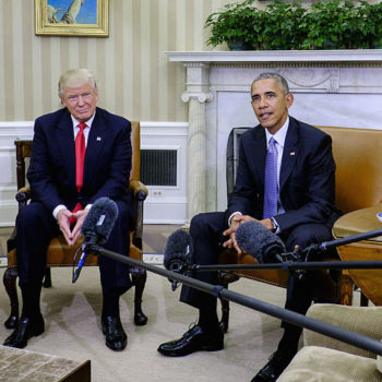 """Obama revealed that his very first meeting with Donald Trump was """"excellent"""""""