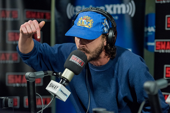 Please - You MUST listen to Shia LaBeouf freestyle rap for five straight minutes