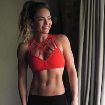 This fitness star shares how much happier she's becoming since gaining weight