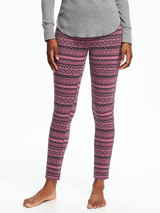 7 Extra Cozy Leggings That You Will Practically Live In All Winter