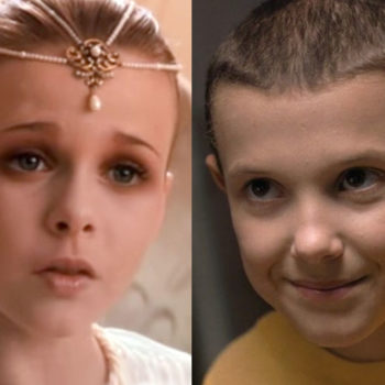 """Stranger Things'"" Eleven met ""The NeverEnding Story's"" Childlike Empress and it was so beautiful"