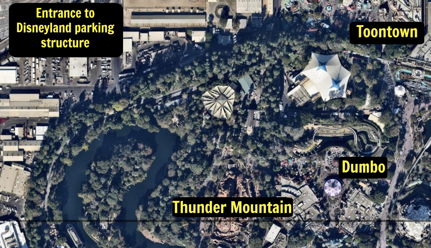 We're completely mesmerized by this aerial shot of Disney's Star Wars Land construction