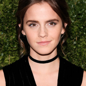 Emma Watson's goth chic gown is making us want to go out and buy something velvet ~now~