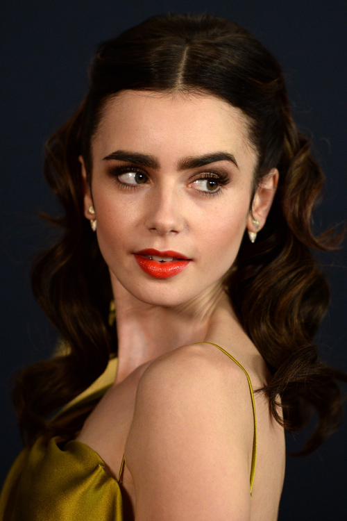 Lily Collins Is Belle From Quot Beauty And The Beast Quot In This