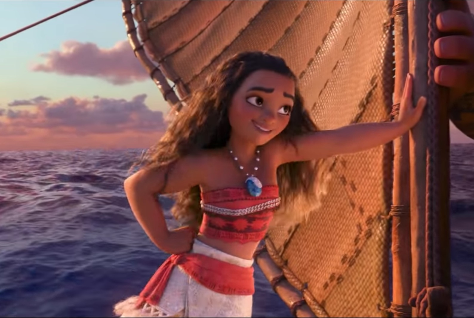 It is a graphic of Persnickety Picture of Moana