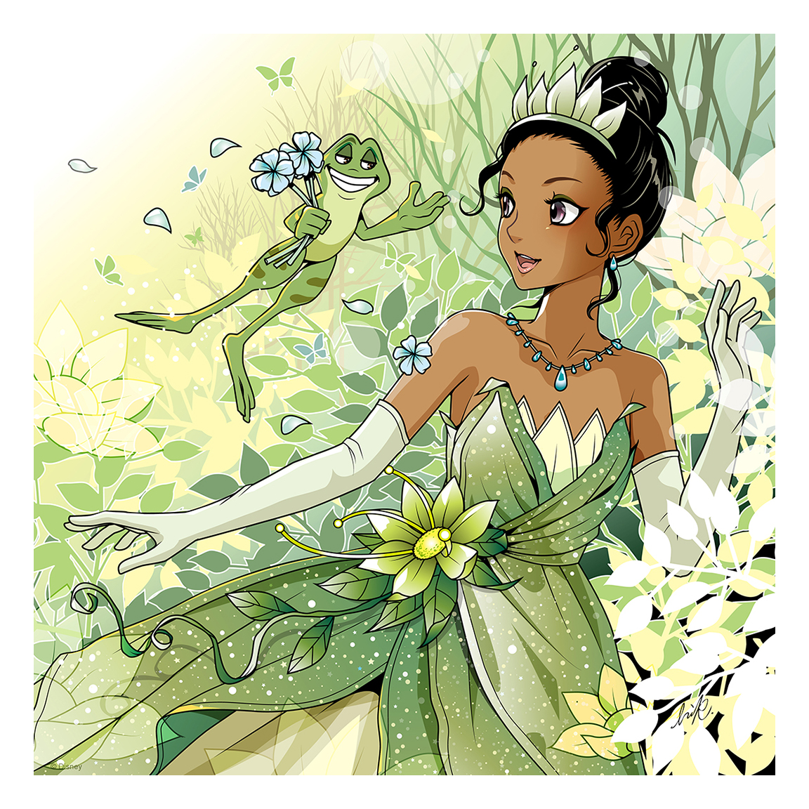 It's just a graphic of Exceptional Picture of Tiana