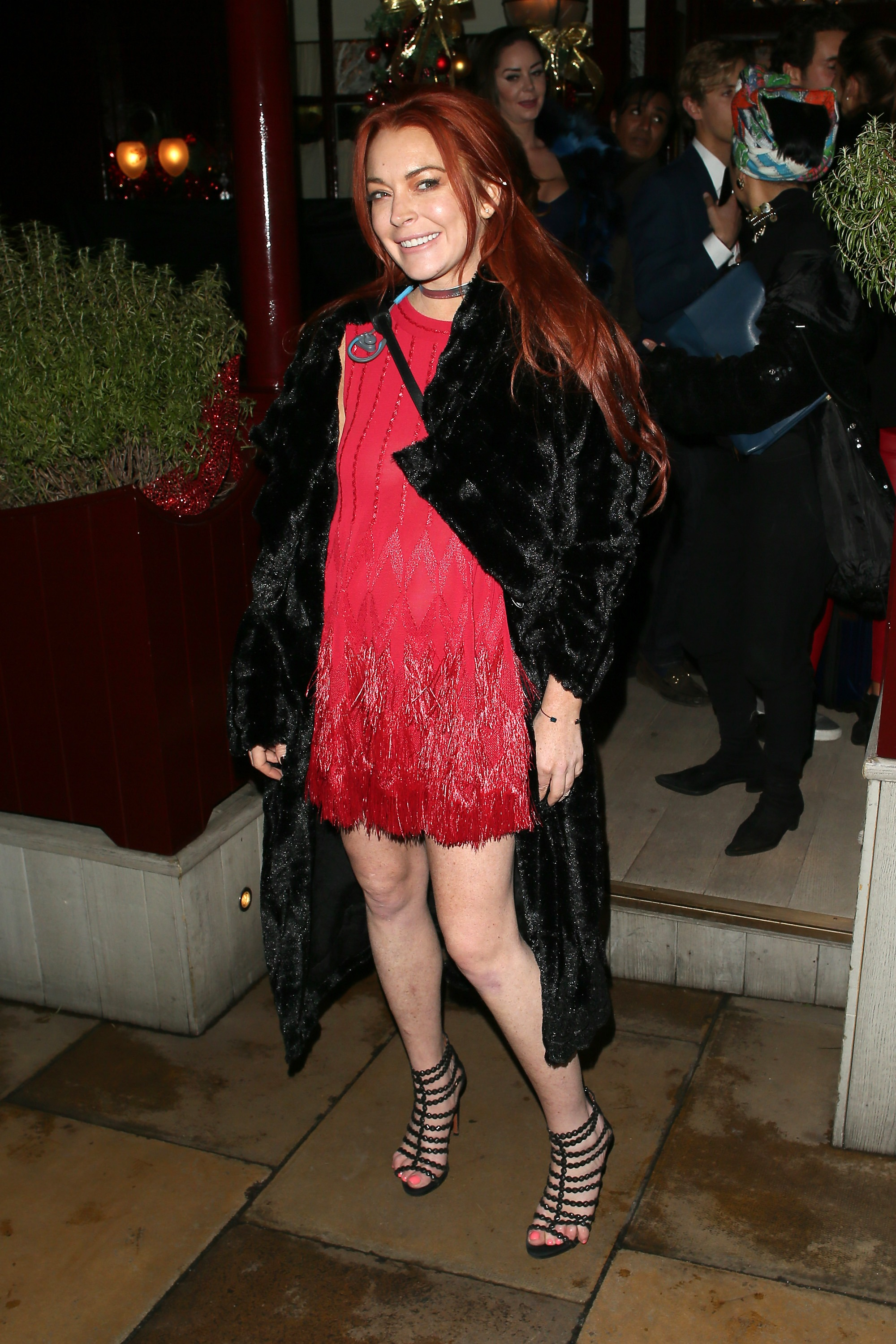 Lindsay Lohan's On Trend Fall Ensemble Lindsay Lohan's On Trend Fall Ensemble new foto