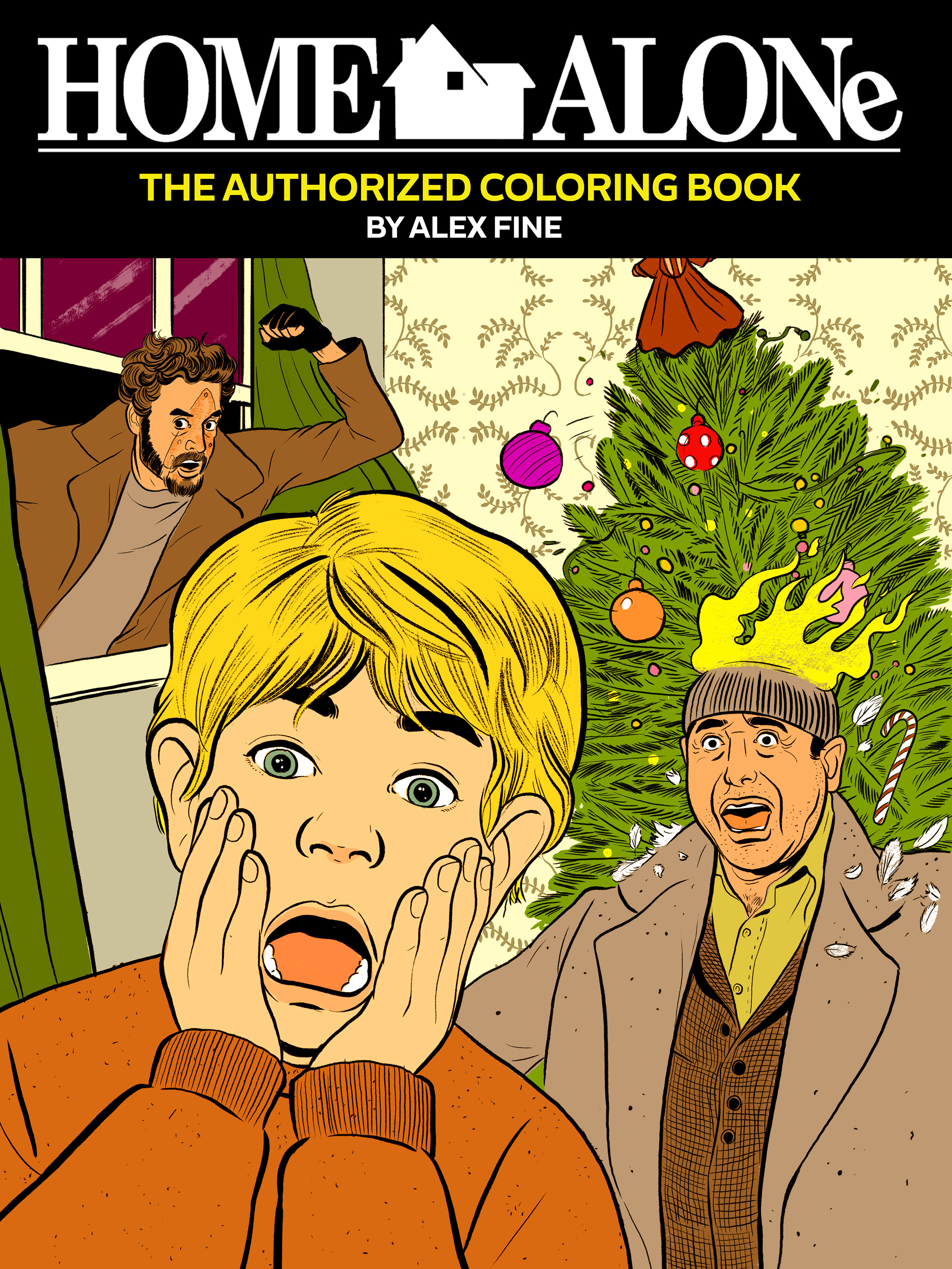 There S An Official Quot Home Alone Quot Coloring Book Now And It