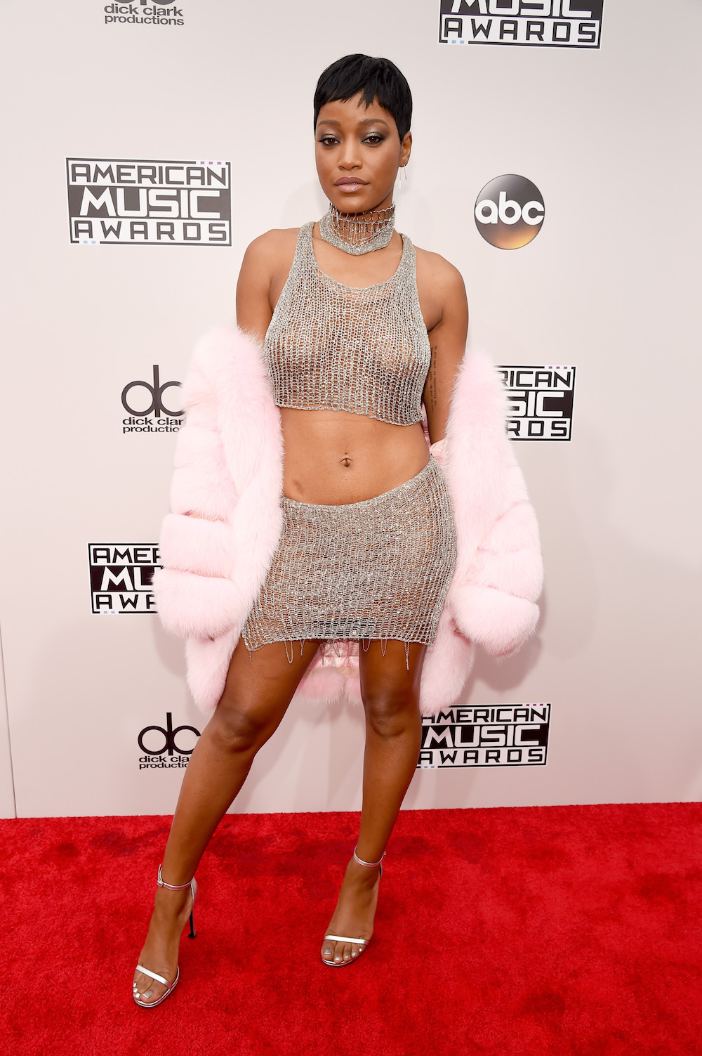 LOS ANGELES, CA - NOVEMBER 20:  Actress Keke Palmer attends the 2016 American Music Awards Red Carpet Arrivals sponsored by FIAT 124 Spider at Microsoft Theater on November 20, 2016 in Los Angeles, California.  (Photo by Kevin Mazur/AMA2016/WireImage)