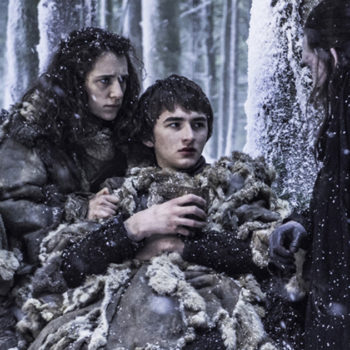 "This ""Game of Thrones"" star is defending Bran and we get what she's saying"
