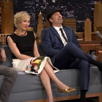 """Scott Patterson, Liza Weil, and Sean Gunn from """"Gilmore Girls"""" chatted with Jimmy Fallon last night, and it was amazing"""
