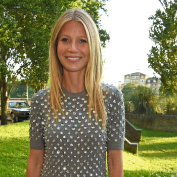 Gwyneth Paltrow shared the *cutest* pic of son Moses reuniting with his dad and we're aww-ing forever