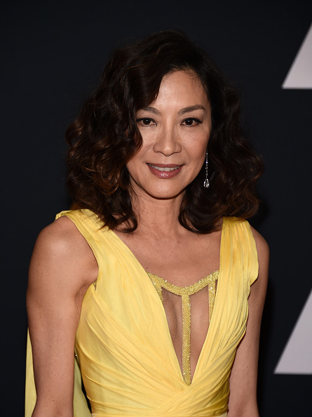 HOLLYWOOD, CA - NOVEMBER 12:  Actress Michelle Yeoh arrives at the Academy of Motion Picture Arts and Sciences' 8th Annual Governors Awards at The Ray Dolby Ballroom at Hollywood & Highland Center on November 12, 2016 in Hollywood, California.  (Photo by Amanda Edwards/WireImage)