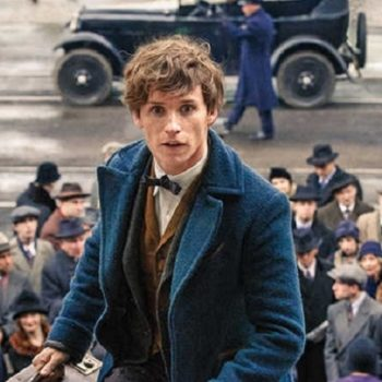 """Wait, did Newt Scamander actually have a cameo in the """"Harry Potter"""" movies???"""