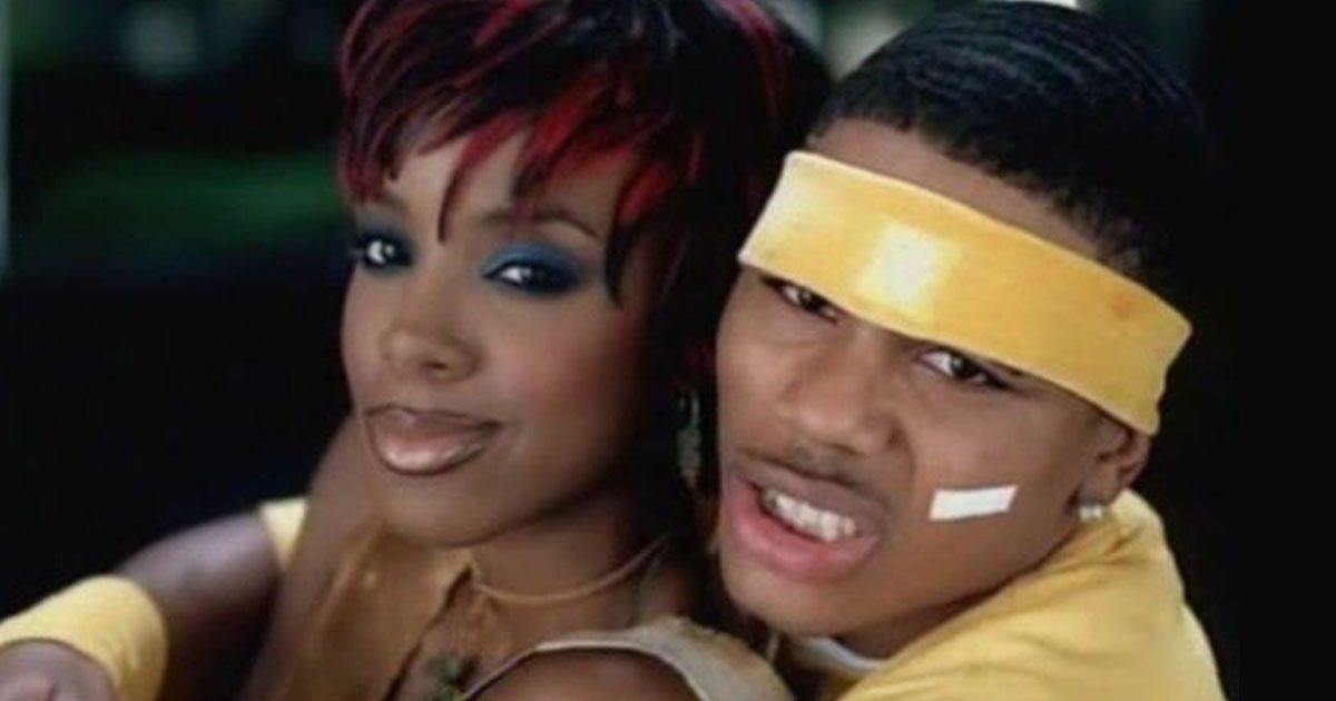 """Nelly has FINALLY explained why Kelly Rowland texts him via Excel in the """"Dilemma"""" video"""