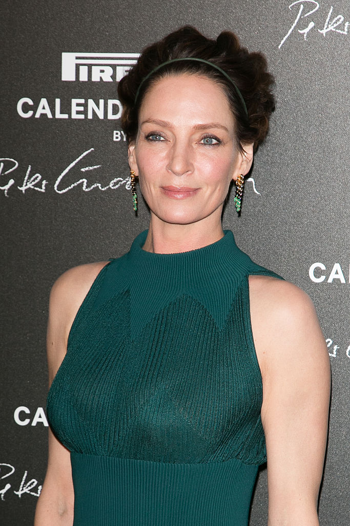Uma Thurman Unveiled A New Brunette Do And We Are In