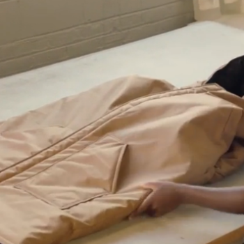 This nonprofit invented a genius coat that converts into a sleeping bag to help homeless people