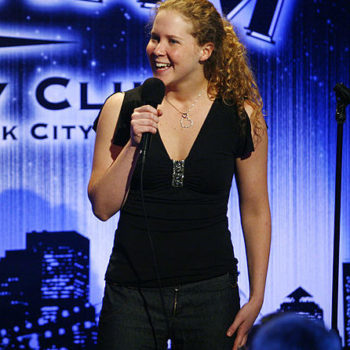 You MUST see this video of Amy Schumer at her first ever stand-up set in 2003 because it's adorable