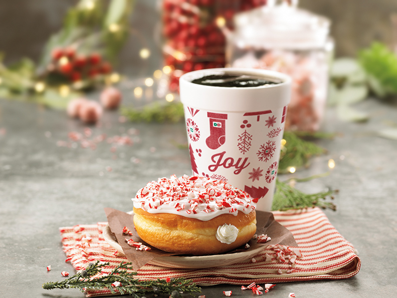 Dunkin Donuts Wants To Add Some Joy To Your Holiday