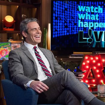 """Andy Cohen from """"Watch What Happens Live"""" discussed becoming a dad some day, and we think he'd be a great one"""