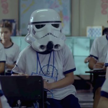 "We're not crying, YOU'RE crying over this ""Star Wars"" ad with a heartbreaking twist"