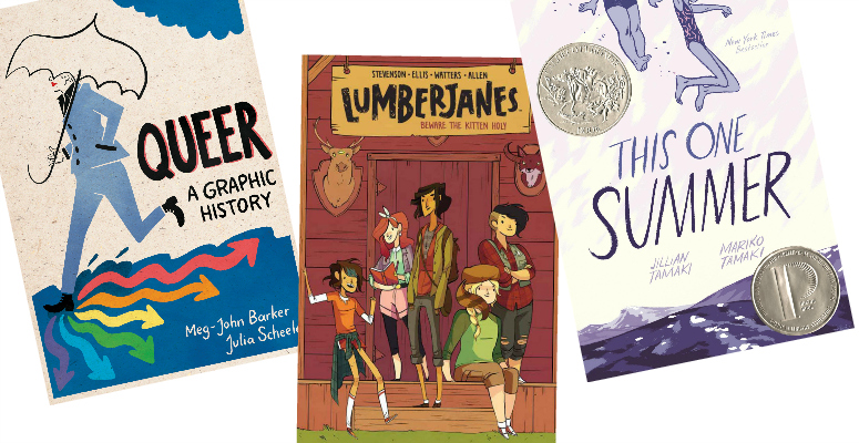7 graphic novels to read by the fire this winter, because we're not leaving the house until spring