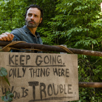 """7 shocking things that happened at Alexandria during """"The Walking Dead"""" midseason finale"""