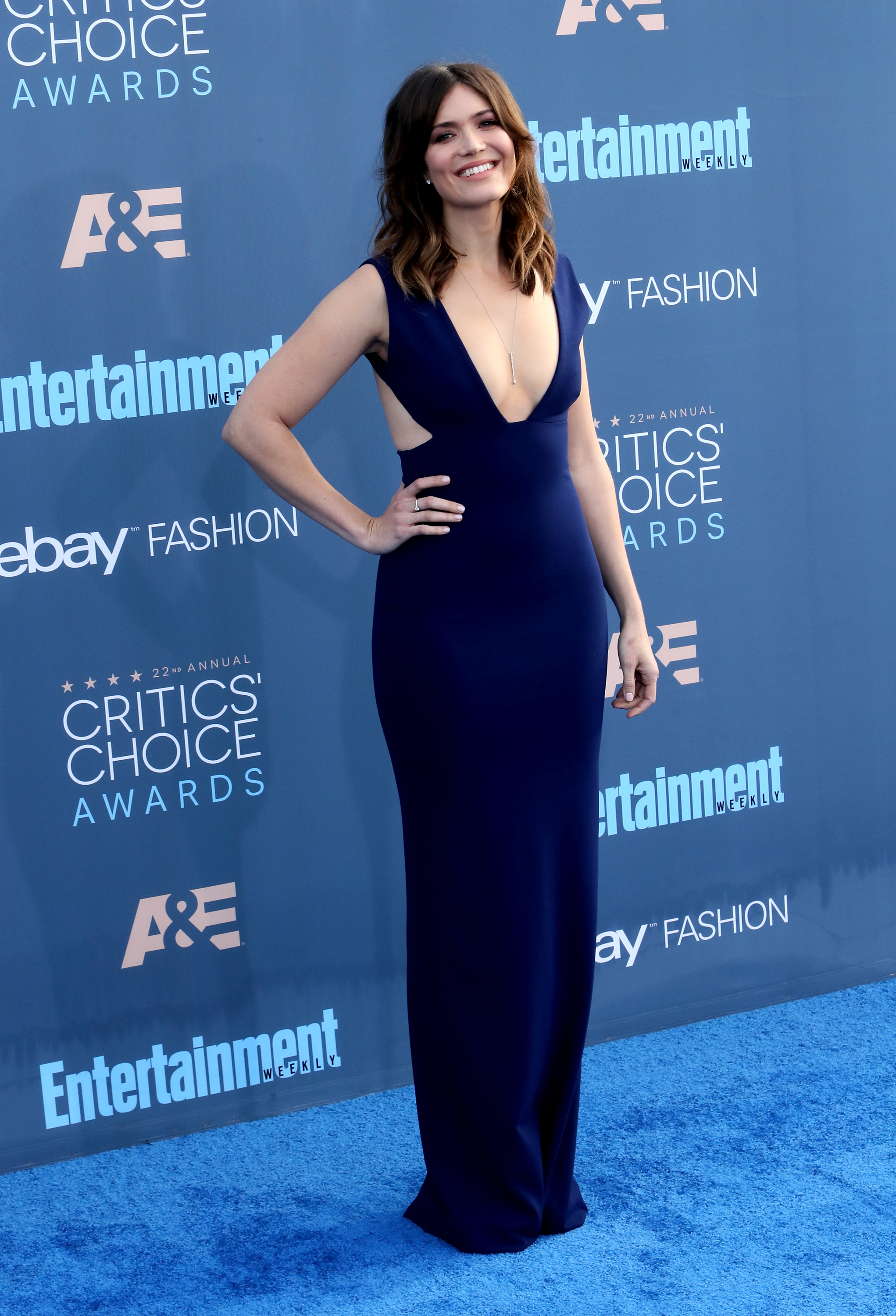 Mandy Moore Wore A Red Carpet Gown That Would Make Her Quot A