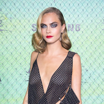 Cara Delevingne's colorful pants have us perplexed in the best way