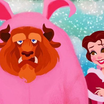 Disney characters recreating iconic holiday movie scenes will make you feel all warm and fuzzy inside