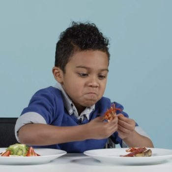 This video of American kids eating international holiday food is both sweet and hysterical