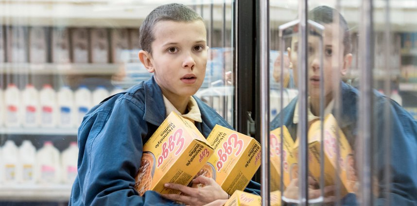 "Millie Bobby Brown reacts to her ""Stranger Things"" Emmy nom, and what a great day to be Eleven"