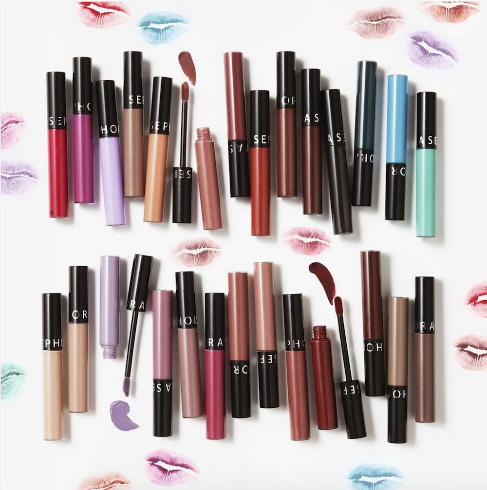 Sephora Came Out With 27 New Shades For Their Lip Stain