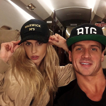 Ryan Lochte and his fiancée announced they're pregnant with an amazing pool (obvs) photoshoot